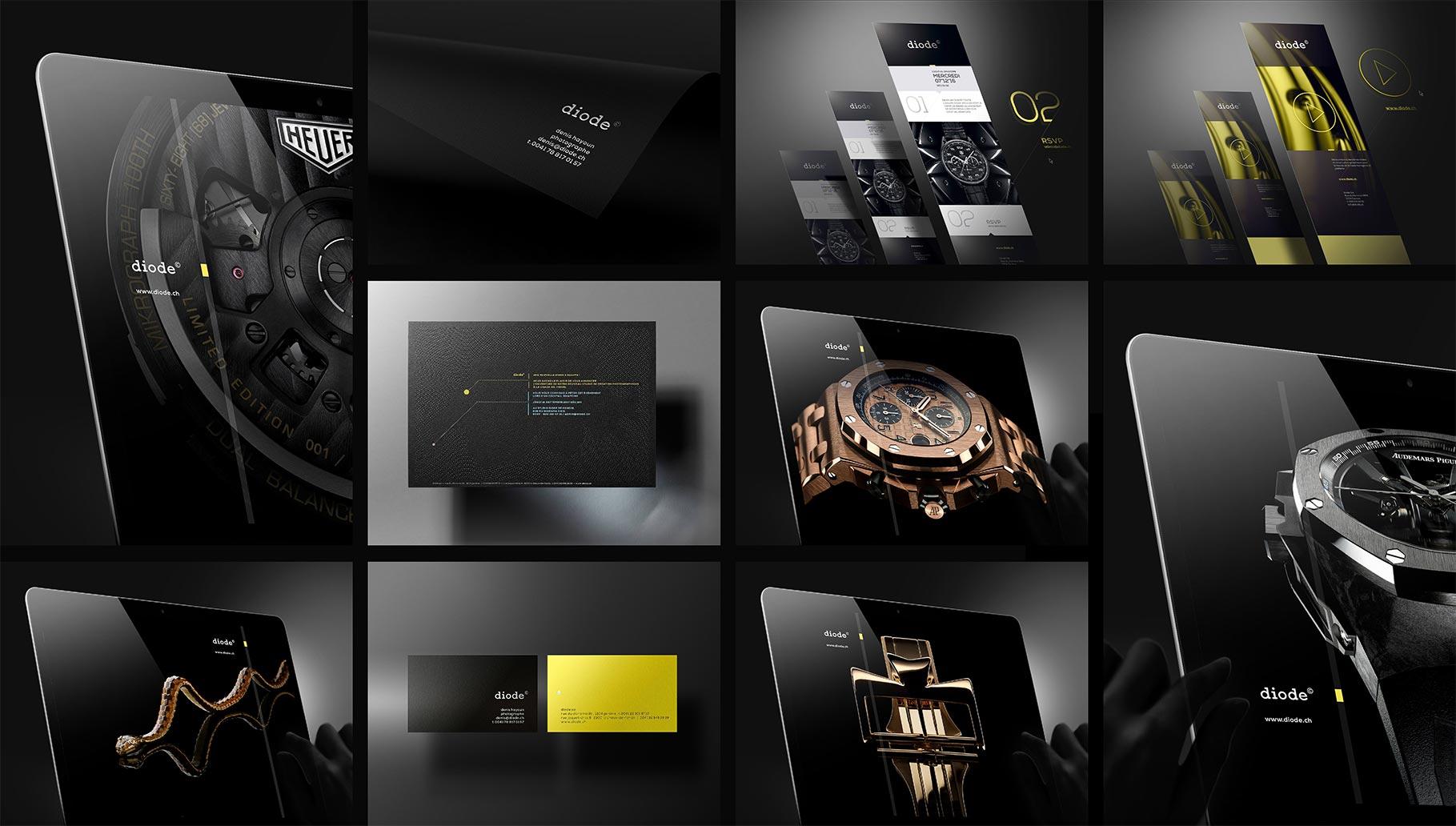 DIODE SA – Studio de photographie