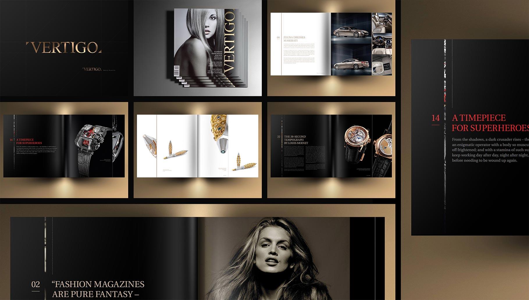 VERTIGO SA – Magazine de Luxe