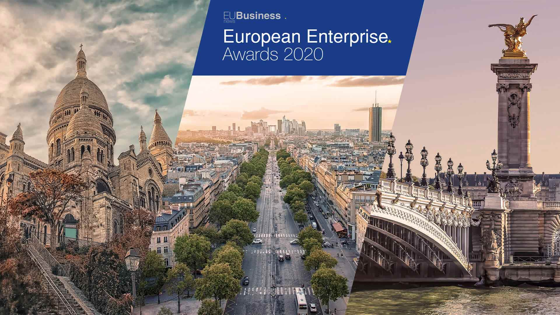 EU Business News a annoncé les lauréats des European Enterprise Awards 2020